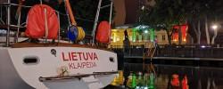 Jachta sugrįžo į gimtą uostą